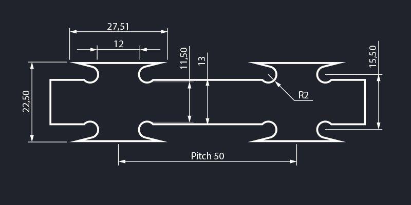 Razor barbed wire dimensions
