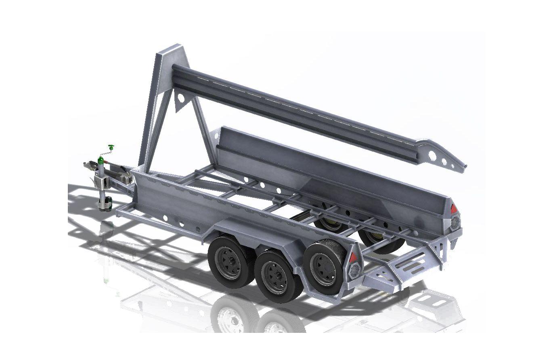 Military rapid deployment trailer dimensions