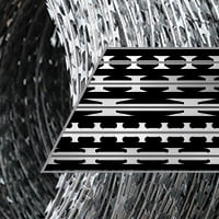 Welded wire mesh blade profiles